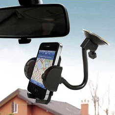 Gooseneck smartphone holder