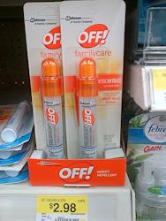 off! insect repellant