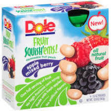 Dole Squish Ems Coupons