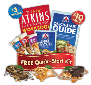 Free Atkins Quick Start Kit