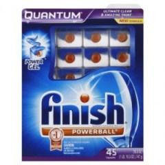 Finish Quantum Dishwashing detergent
