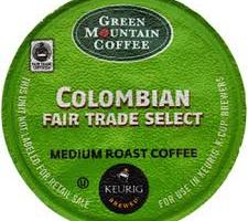 Free Samples of Green Mountain Fair Trade Coffee K-Cups