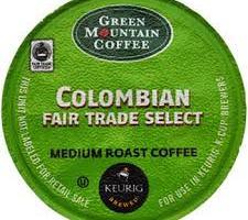 Free Samples Green Mountain Fair Trade Coffee