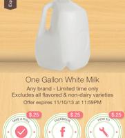 New Ibotta Milk Offer + Store Deals