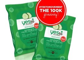 Free Sample of Yes To Carrots Facial Wipes