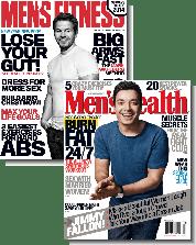 Men's Health and Men's Fitness Magazines