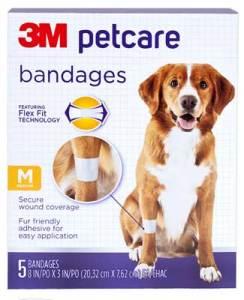 3m petcare bandages