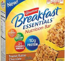 Free Samples of Carnation Breakfast Essentials Nutritional Bar