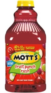 Motts Fruit Punch Rush
