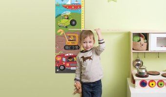 Personalized Growth Chart From I See Me! for $22.00