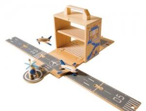 Diggin Box Airplane Set