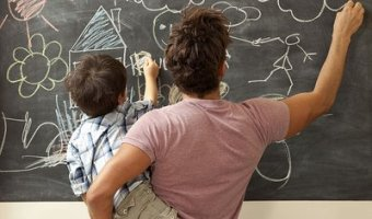 6-Foot Chalkboard Wall Decal for $9.99 + Free Shipping