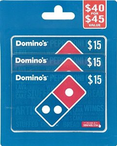 Dominos Pizza Gift Cards