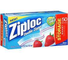 Ziploc Sandwich Bags for $0.73 at Walmart