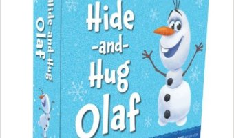 Frozen Hide-and-Hug Olaf Hardcover Book for $11.88