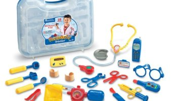 Learning Resources Pretend & Play Doctor Set for $14.23