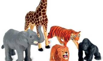 Learning Resources Jumbo Jungle Animals for $11.83