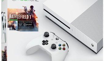 Xbox One S 500GB Console – Battlefield 1 Bundle