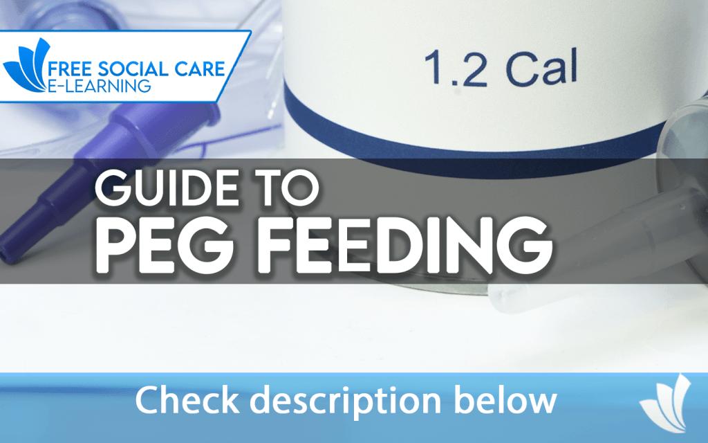Guide to peg feeding training