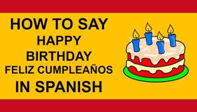 how to say happy birthday and ask when is your birthday in spanish tutorial - How To Say Christmas In Spanish