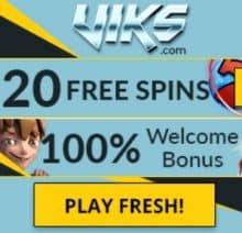 Viks Casino free bonus