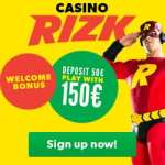 Rizk Casino – 10 free spins or €25 no deposit bonus – fast payments!
