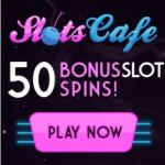 Slots Cafe Casino 150 free spins and £€$ 1200 match bonus