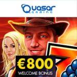Quasar Gaming | €800 free bonus & voucher codes | Novomatic Casino