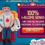 FANTASINO – 100 free spins + 225% bonus + €700 gratis – online casino