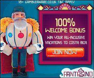 FANTASINO - 100 free spins + 225% bonus + €700 gratis - online casino