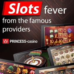 Princess Casino | 90 free spins and €300 free bonus | Play now!