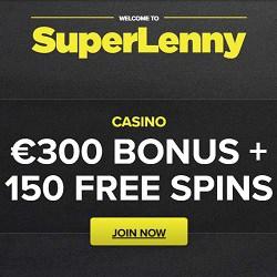 SuperLenny Casino banner 250x250
