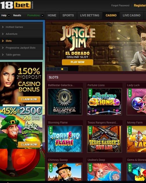 18bet casino free bonus code