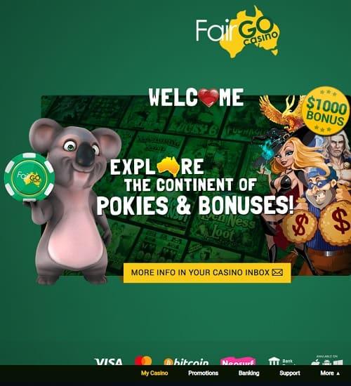 Australian Casino - Fair Go Casino - Review
