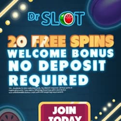 Dr Slot Mobile Casino - 20 free spins bonus without deposit