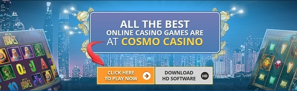 Cosmo Casino games and software