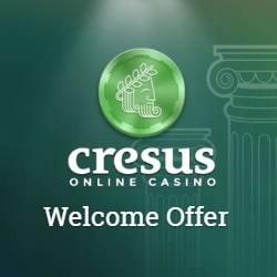 Cresus Casino 150% up to €300 free bonus + gratis spins