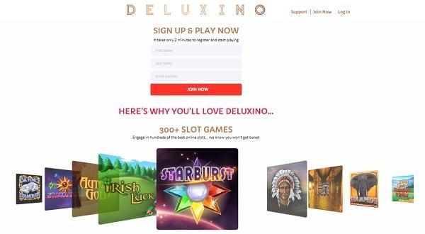 Deluxino Casino free play bonus