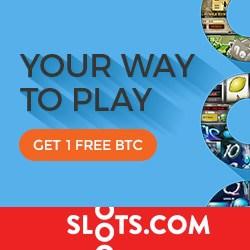 Slots.com Casino 1 Bitcoin (BTC) free bonus - mobile & desktop