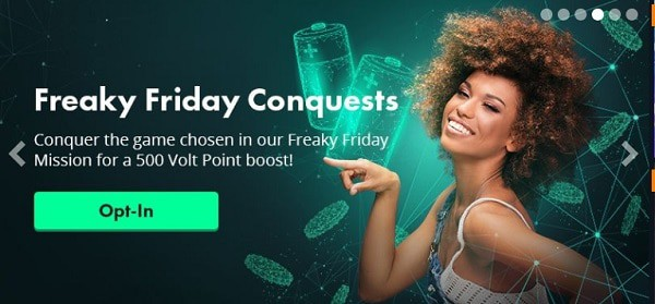 Volt Casino Friday Conquests