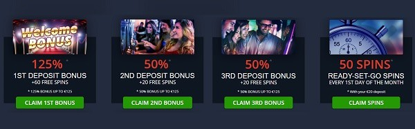 Fruits4Real Casino welcome bonus and free spins