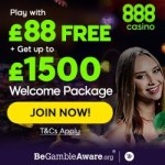 How to get $88 free no deposit bonus at 888 Casino?