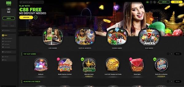 net 888 free on casino