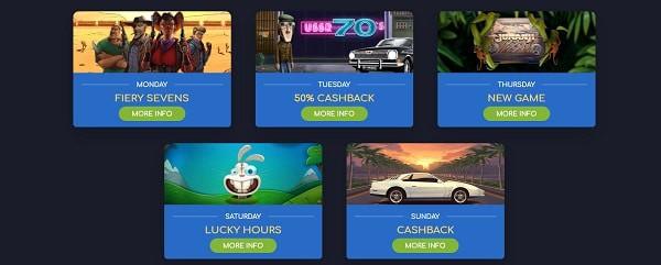 Wild Tornado Casino cashback, gratis spins, tournament, jackpots