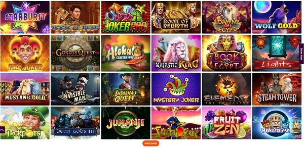 Exclusive Casino Games, Free Spins, Bonus, Promotion