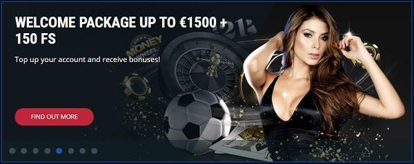 100% bonus and 30 free spins on first deposit