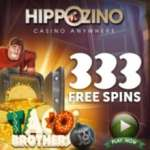 Hippozino Casino 333 free spins and no deposit bonus