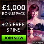 Royal House Casino | £1000 Chips   25 free spins   no deposit bonus