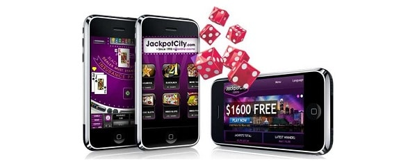 Jackpot City Casino mobile and online