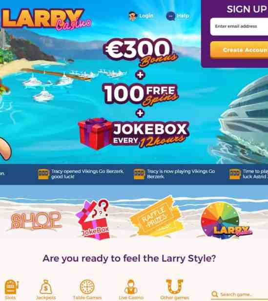 Larry Casino Review